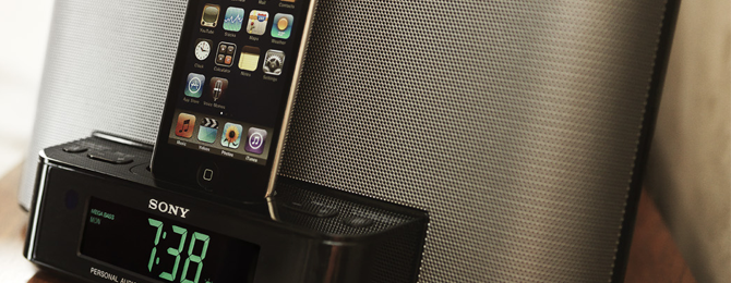 top ipod docks 2012 header